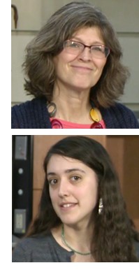 Ann Lambert and Cara Dilorio